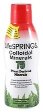 LifeSprings Colloidal Minerals - 75 Plant Derived Minerals 500ml