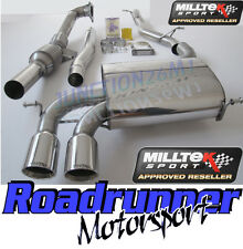 Milltek Audi S3 8P Exhaust 2.0 3 Door Turbo Back Exhaust NonRes & Downpipe Cat