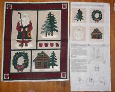 Christmas in the Pacific Northwest Wilderness Wall Hanging VIP Fabric Panel