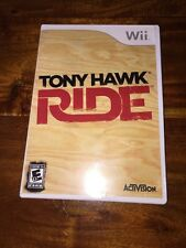 Nintendo Wii - Tony Hawk Ride (NFR) - Game Only