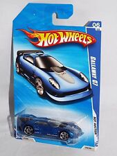 Hot Wheels 2010 Hot Auction Series #164 Callaway C7 Mtflk Blue w/ PR5s