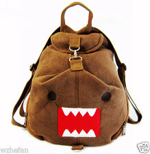 Domo kun domokun Backpack Bag Figure Plush Soft Cartoon Cute Backpack bags