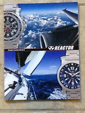 Reactor Watch Product Guide Fall 2013 Catalog (49 color pages) MINT New