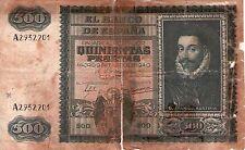 ★BILLETE 500 PESETAS DE 1940 JUAN DE AUSTRIA★