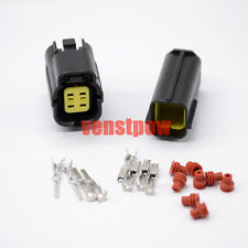 Connector Plug Terminal Set 1 set of 4 Pin Way Sealed Waterproof Electrical Wire