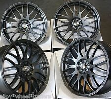 "17"" GM MOTION ALLOY WHEELS FITS VOLKSWAGEN PHAETON TIGUAN TOURAN TRANSPORT T4"