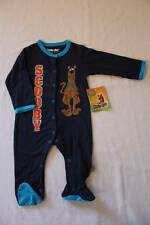 NEW Baby Boys Scooby Doo Bodysuit 6 - 9 Months Footed Sleeper Outfit SD PJs Dog