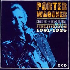 Porter Wagoner - Green Green Grass of Home-A Singles Collection 196 [New CD] UK