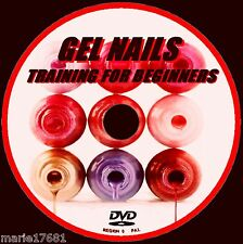 LEARN HOW TO CREATE PERFECT GEL ACRYLIC  NAILS EDUCATIONAL VIDEO DEMO DVD  NEW
