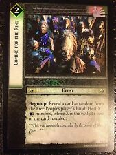 Lord of the Rings CCG Realms Elf-Lords 3C51 Coming for the Ring X2 LOTR TCG