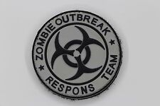 ZOMBIE OUTBREAK PATCH EMERSON PVC TACTICAL MILITARY AIRSOFT SWAT BADGE EM5555-4