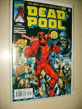 Deadpool #50 NM signed by Jimmy Palmiotti 1997 1st Series Marvel Comics NM