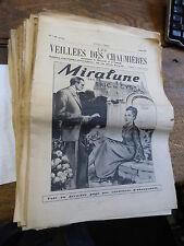 les veillées des chaumières - 69 ° année - 89  nunéros de 1949/1950