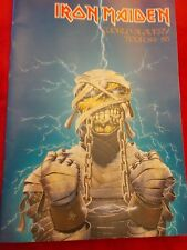 IRON MAIDEN WORLD SLAVERY 1984/85 WORLD TOUR PROGRAMME
