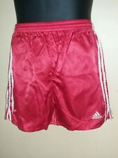 Men's satin soccer 80's Adidas boxer lounging swimming running vintage shorts
