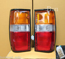 2 MITSUBISHI L200 L 200 PICKUP TRUCK REAR TAIL LIGHTS LIGHT LAMP 89 90 91 92 94