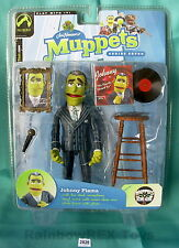 JOHNNY FIAMA with PINSTRIPED SUIT The Muppets Show Series 7, Palisades 2004 MOC