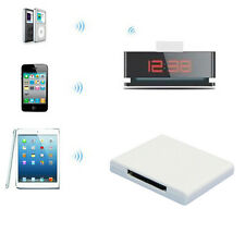 Bluetooth A2DP Audio Music Receiver Adapter For iPhone iPod 30 Pin Dock Speaker&