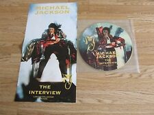 """MICHAEL JACKSON 12"""" PICTURE DISC INTERVIEW + POSTER"""