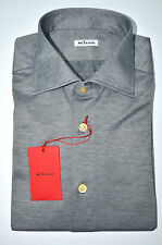 NEW 2016 KITON SHIRT 100% COTTON  16 US 41 EU 556208