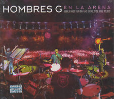 CD - Hombres G NEW En La Arena 2 CD's + 1 DVD Gira 30 Anos FAST SHIPPING !