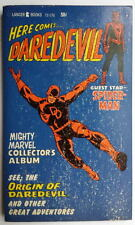 HERE COMES DAREDEVIL Collectors Album PB 1967 SPIDERMAN