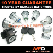 FORD TRANSIT CONNECT 2002-2013 LOCK SET OF 5 LOCK FRONT REAR IGNITION + 2 KEYS