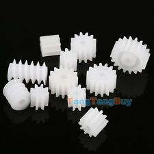 11 Kinds Plastic Shaft Gears 9 Spindle and 2 Worm DIY For Toy Robot Accessories