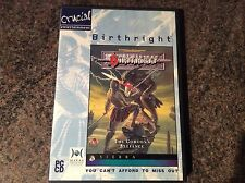 Birthright Pc Game! Rare! Look At My Other Games!