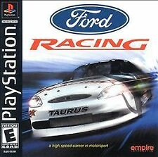 Ford Racing, Very Good PlayStation, Playstation Video Games
