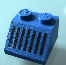LEGO 3039p05 @@ Slope 45 2 x 2 with Black Grille Pattern @@ 6931 6951