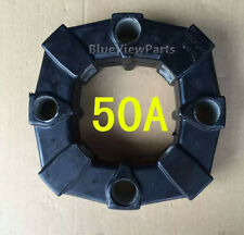 Rubber coupling 50A for Caterpillar E120,E312B,Kobelco SK120,Sumitomor SH200A1