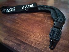 Single Point Rifle Sling - Hand Made in USA, paracord, MOLON LABE
