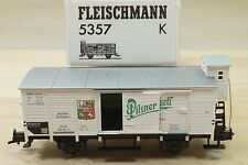 Fleischmann 5357 K  Güterwagen 598 993 Bierwagen Pilsner Uhrquell neu in OVP