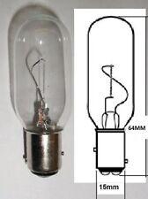 Lámpara Bombilla Luz De Navegación Marina 12 voltios 10 vatios Ba15d Para Barco Yate