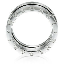 Bvlgari B.zero1 3-Band White Gold Ring in US Size 7 1/4