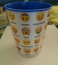 Emoji Variety Faces Party Plastic Cup NEW