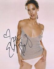 ELIZABETH BERKLEY Signed 8 x 10 Color Photo Autograph COA SEXY Pic w/ AUTO