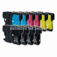 10 PK New LC61 Ink Cartridge for Brother Printer DCP-585CW MFC-J630W LC61 LC-61