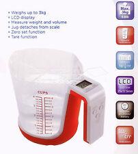 Medición Digital Jarra De Cocina Baking pesaje escala