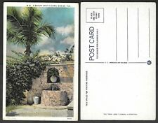 Old Florida Postcard - Beauty Spot in Coral Gables