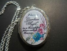 (LOCKET) I HAVE A GUARDIAN ANGEL IN A BEAUTIFUL PLACE CALLED HEAVEN