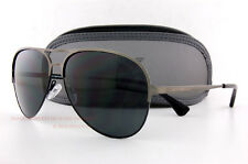 Brand New EMPORIO ARMANI Sunglasses 2032 3126/87 Matte Gunmetel/Gray  Men