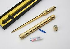 "Golden ""THE WAR KING SNIPER"" SPECIAL THREE BLADE DAGGER Hunting Survival KNIFE"