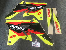 Suzuki RMZ250 07-09 One Industries Delta copertura radiatore kit grafica 1G14