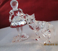 Swarovski Crystal, Retired, Red Riding Hood & the Wolf
