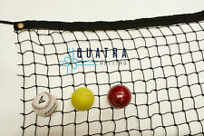 Cricket Practice Net / Sports Barrier Netting  3m x 10m with Tie Rope & Edging