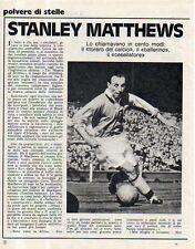 MA116-Clipping-Ritaglio 1972 Stanley Matthews