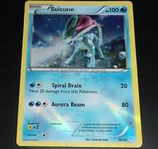 Suicune 30/30 XY Trainer Kit Pikachu Libre HOLO Promo NEAR MINT Pokemon Card