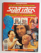 Star Trek Next Generation Makeup FX Journal Magazine-Westmore- Starlog- FREE S&H